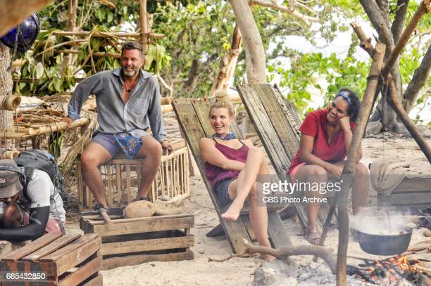 'Vote Early Vote Often' Jeff Varner Andrea Boehlke and Sandra DiazTwine on the sixth episode of SURVIVOR Game Changers airing Wednesday April 5 on...