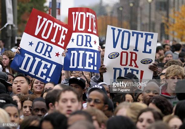 Vote Or Die Campaign Rally At Wayne State University