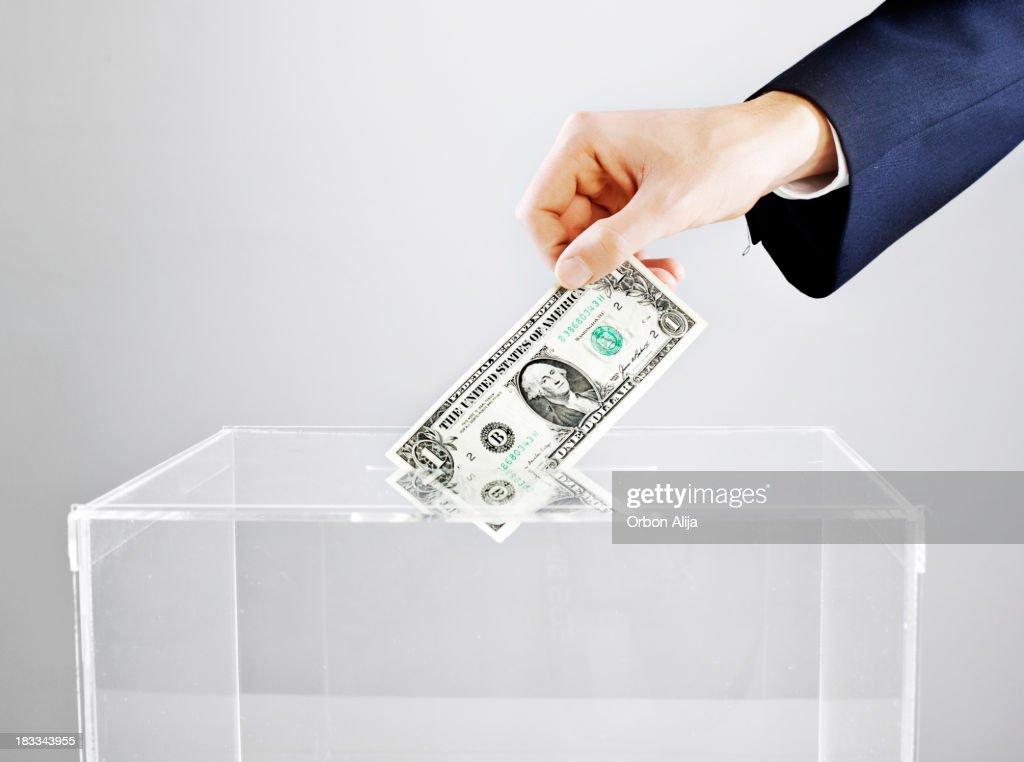 Vote with money