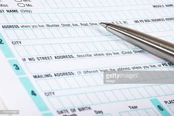 Voter Registration Stock Photos And Pictures  Getty Images