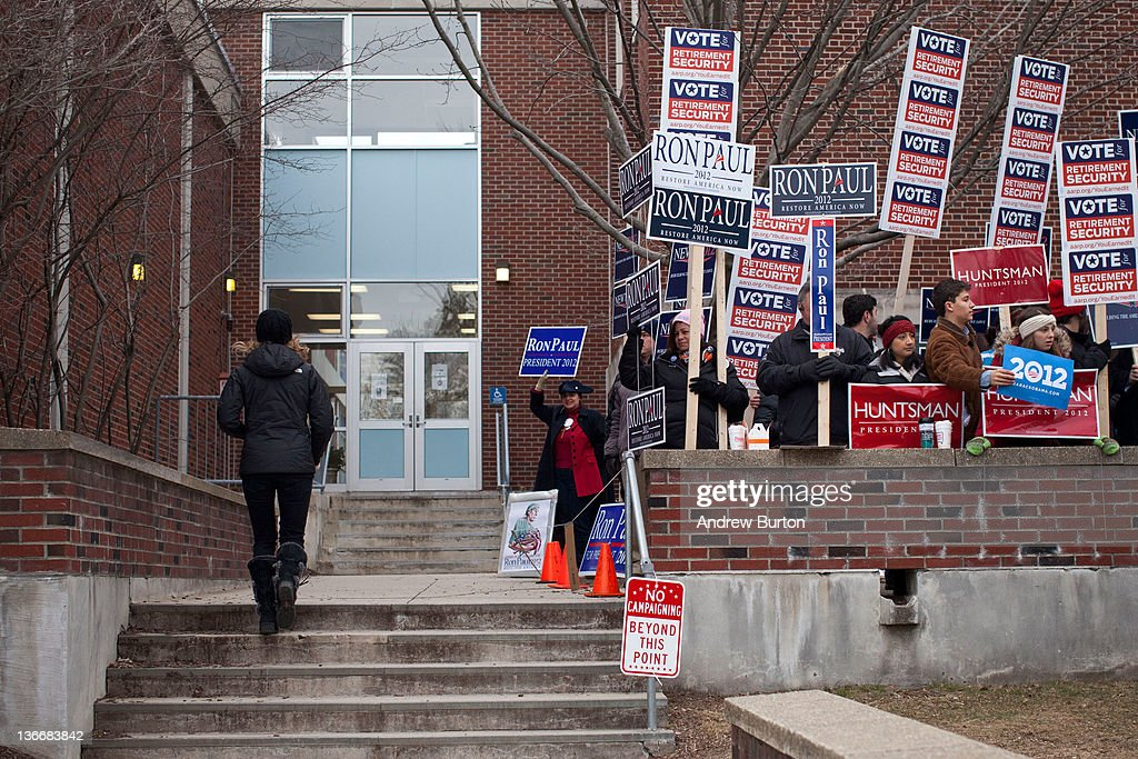 New Hampshire Voters Head To The Polls For State's Primary ...