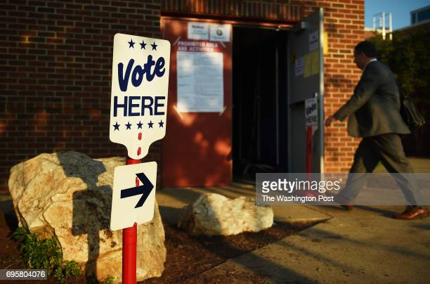 Voters at George Washington Middle School in Alexandria VA June 13 early Tuesday morning during Virginia primaries Tom Perriello who served one term...