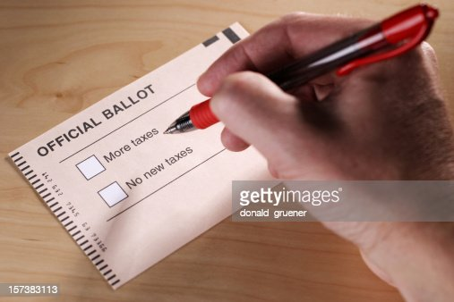 Voting on Taxes