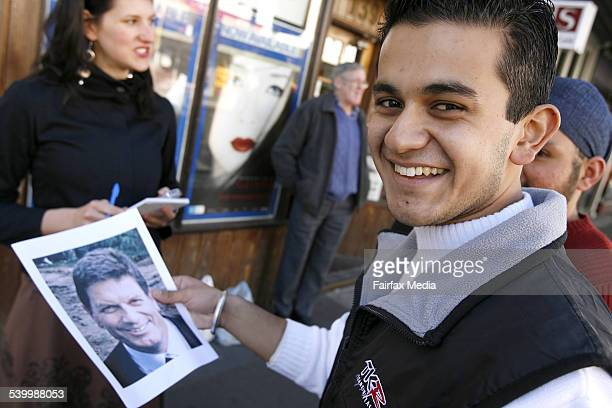 Vox pop by Alex Roginski testing Melburnians' ability to recognise Liberal Ted Baillieu Shows Prashant Sharma 21 July 2006 THE SUNDAY AGE Picture by...