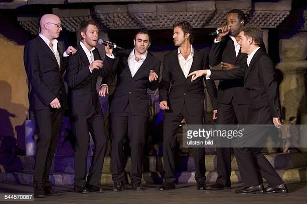 Vox Pop Musikgruppe A Cappella Großbritannien Auftritt im Adagio Berlin