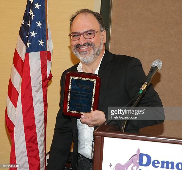 Vox Populi Award recipient Charlie Vignola attends the Santa Clarita's Democratic Alliance for Action inaugural awards luncheon Saturday October 10...