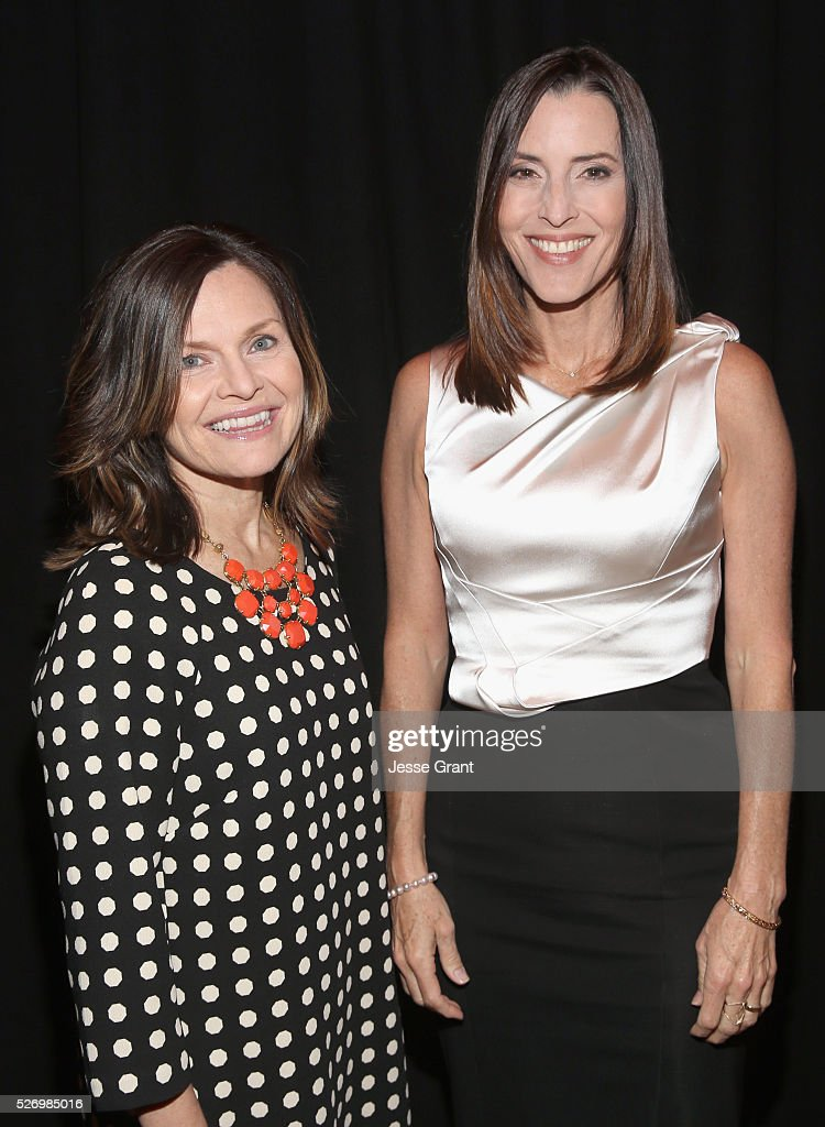 VP/Brand Creative Director at TCM Pola Changnon (L) and film producer Cecilia Peck attend 'The Keys of the Kingdom' screening during day 4 of the TCM Classic Film Festival 2016 on May 1, 2016 in Los Angeles, California. 25826_009