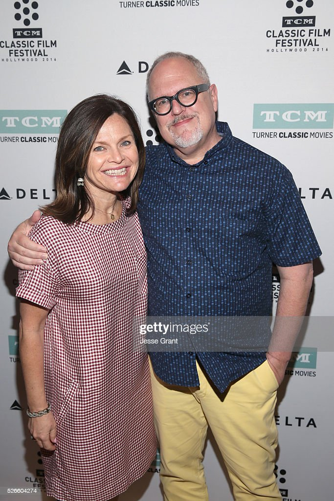 VP/Brand Creative Director at TCM Pola Changnon (L) and writer William Joyce attend the 'Bambi' screening during day 3 of the TCM Classic Film Festival 2016 on April 30, 2016 in Los Angeles, California. 25826_009