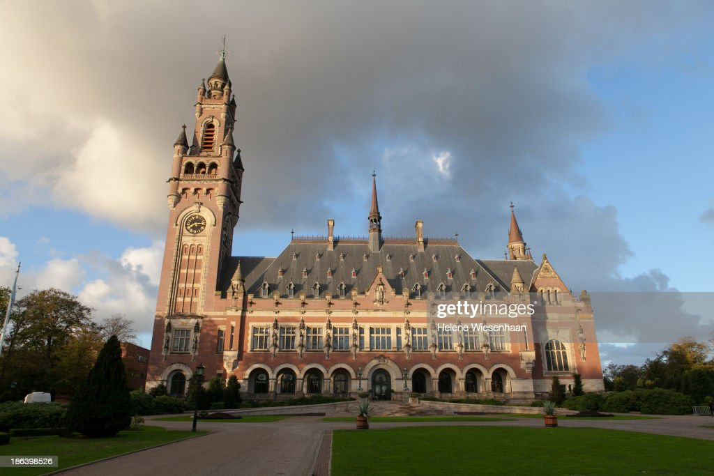 Vredes Paleis the meeting place for the International Commission on Missing Persons Convention is shown on October 30 2013 in the Hague Netherlands