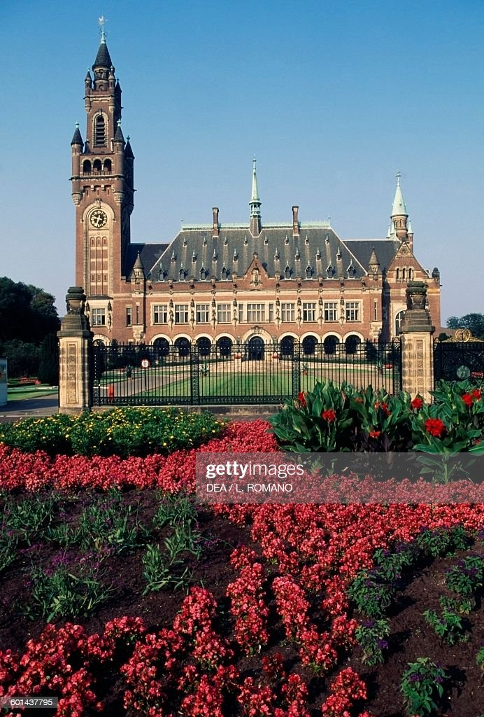 Vredespaleis Peace Palace seat of the International Court of Justice The Hague Netherlands