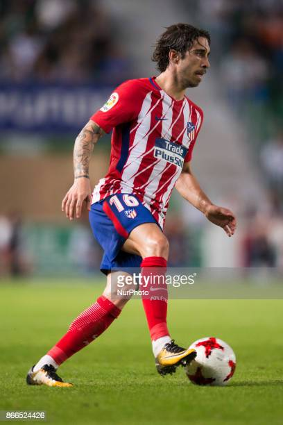 Vrsaljko during the match between Elche CF vs Atletico de Madrid round of 16 1st leg of Copa del Rey 2017/18 in Martinez Valero Stadium Elche 25th of...