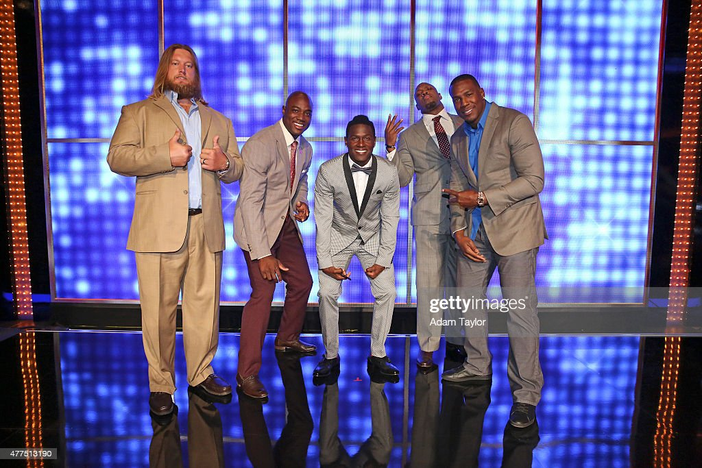 FEUD - 'NFL AFC vs NFC and Dancing with the Stars vs The Bachelor' -- 'Celebrity Family Feud' will feature players from the National Football League Players Association (NFLPA), and in a separate game, professional dancers from 'Dancing With the Stars' and popular participants from the romantic reality shows 'The Bachelor' and 'The Bachelorette' will spar off against each other to win money for a charity of their choice. Hosted by Steve Harvey, the highly popular multi-hyphenate standup comedian, actor, author, deejay and Emmy Award-winning talk show and game show host, this episode of 'Celebrity Family Feud' airs SUNDAY, JUNE 28 (8:00-9:00 p.m., ET/PT) on the ABC Television Network.