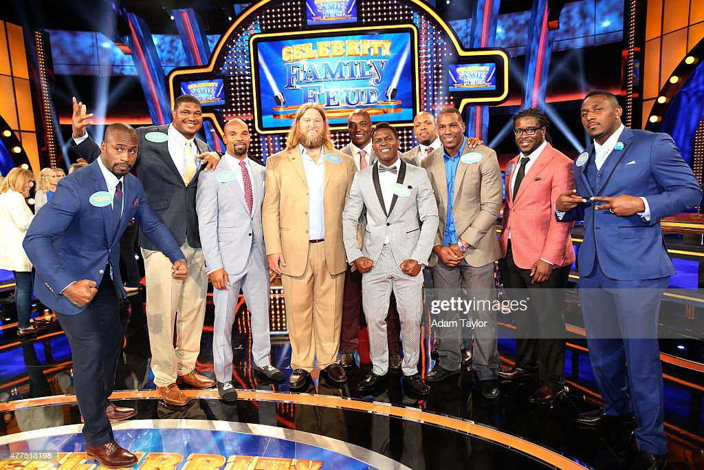 NFC Offense Fast Money - Celebrity Family Feud - YouTube