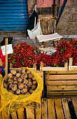 Vucciria. Storical, open air sicilian market. Palermo.