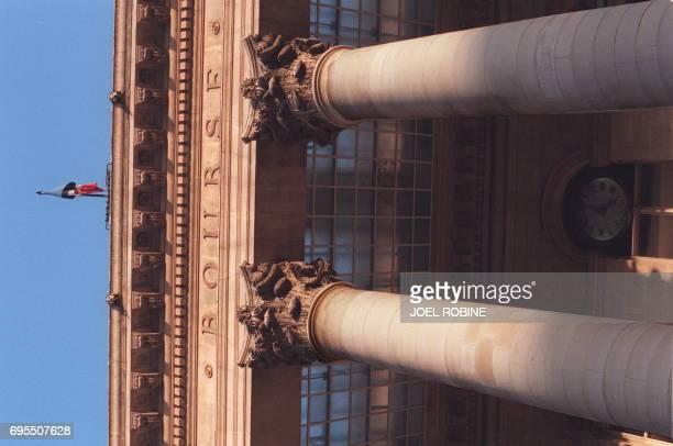 vue partielle de la façade du palais Brongniart à Paris le 17 février La séance s'est terminée sur un record le 10e depuis le début de l'année la...