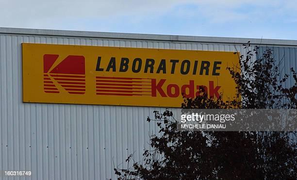 vue partielle des laboratoires Kodak prise le 15 octobre 2004 sur la zone industrielle du MontCoco à Caen Le comité central d'entreprise de Kodak...