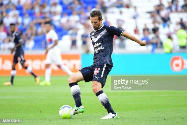 Vukasin Jovanovic of Bordeaux during the Ligue 1 match between Olympique Lyonnais and FC Girondins de Bordeaux at Groupama Stadium on August 19 2017...