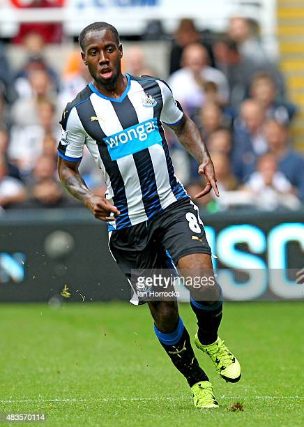Vurnon Anita of Newcastle United during the Barclays Premier League match between Newcastle United and Southampton at St James' Park on August 09...