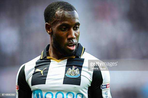 Vurnon Anita of Newcastle United during the Sky Bet Championship Match between Newcastle United and Brentford at StJames' Park on October 15 2016 in...