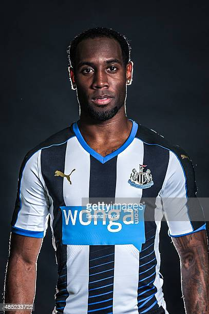 Vurnon Anita poses for his head shot during a Newcastle United Photocall at The Newcastle United Training Centre on July 28 in Newcastle upon Tyne...