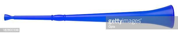 Vuvuzela, isoliert auf weiss