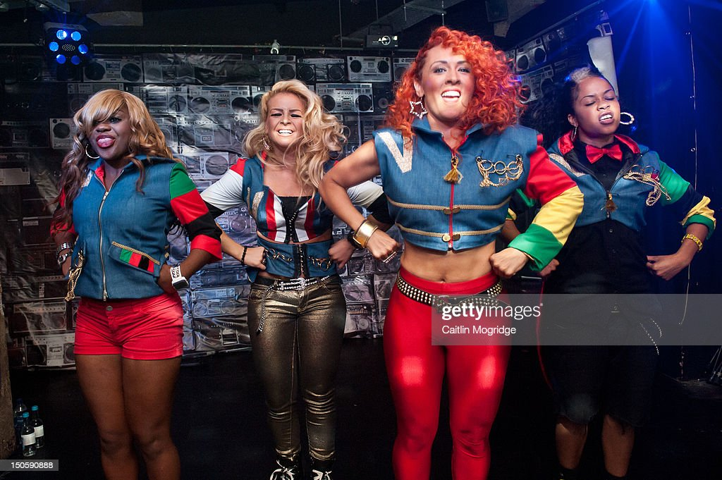 V.Vee, Jade, AJ and Cheekz of Vida perform on stage at Queen Of Hoxton on August 22, 2012 in London, United Kingdom.