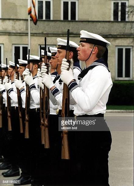 Wachbataillon der Marine in Aufstellung 1998