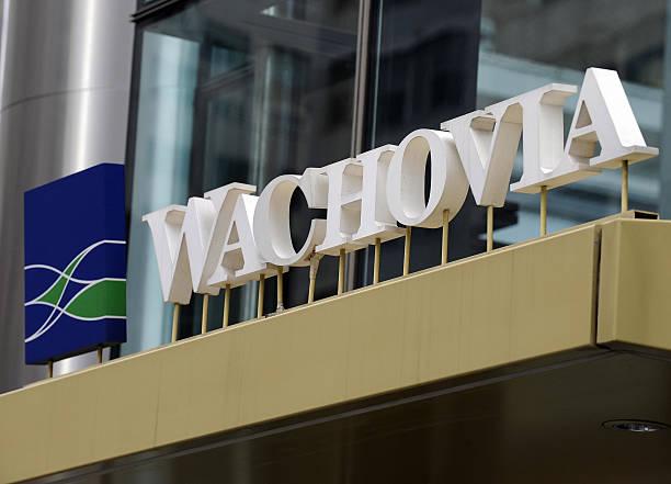 Ny Banking Takover Wachovia Wells Fargo Citigroup Agreement Photos