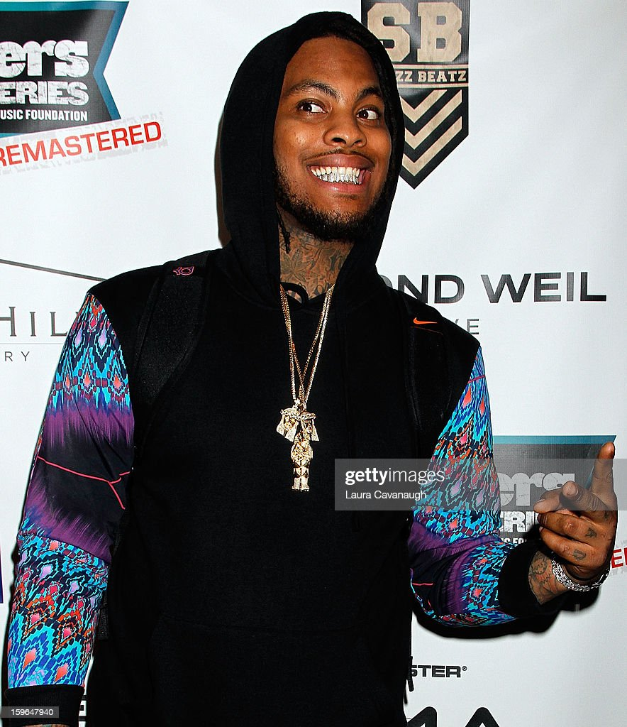 Wacka Flacka Flame attends The VH1 Save The Music Foundation's 'Songwriter Music Series' With Swizz Beatz at Hard Rock Cafe - Times Square on January 17, 2013 in New York City.