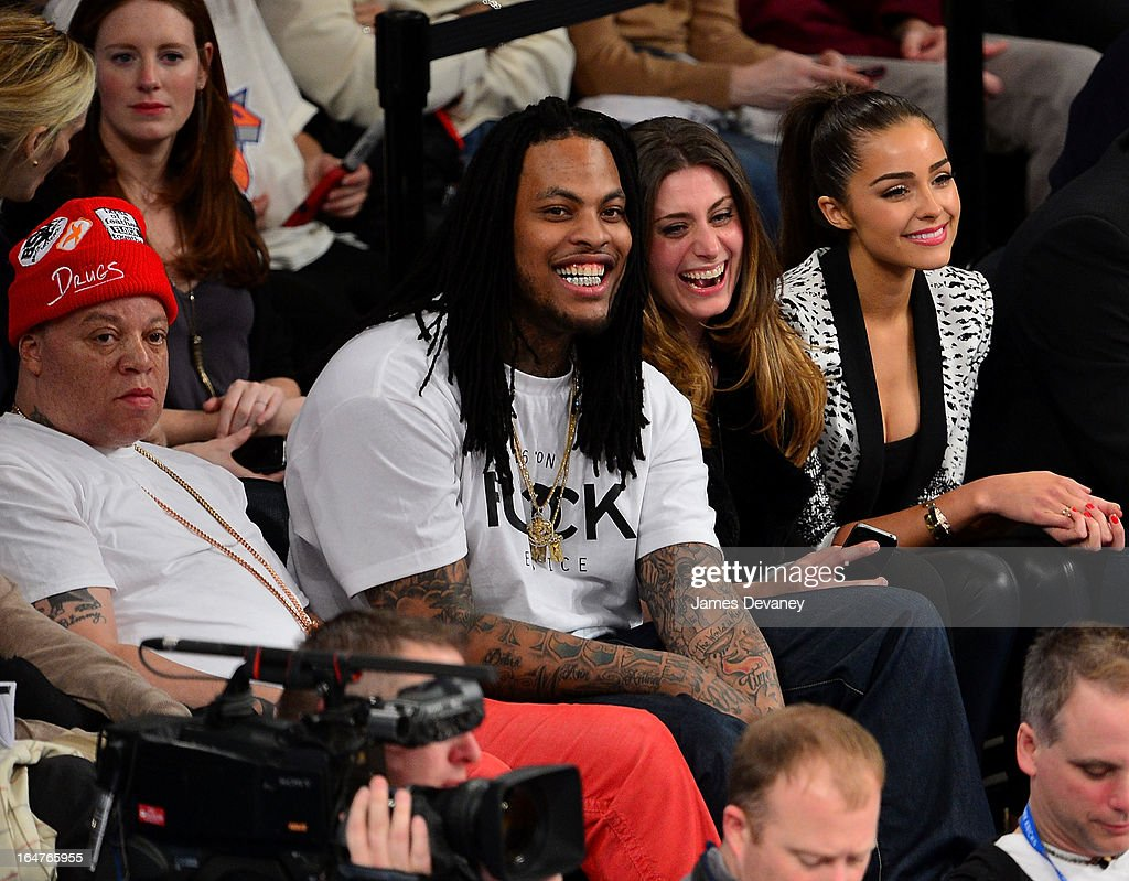 Wacka Flocka attends the Memphis Grizzlies vs New York Knicks game at Madison Square Garden on March 27, 2013 in New York City.