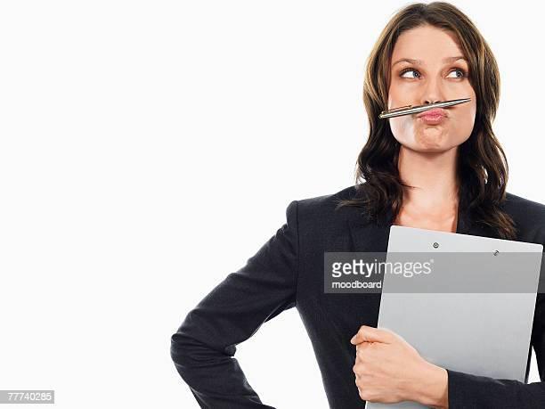 Wacky Businesswoman