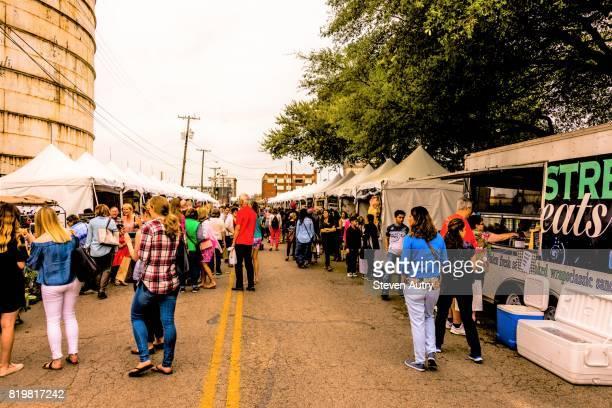 WACO, TX, USA  MARCH 18, 2017: Waco shuttle taking passengers to Magnolia Silos.