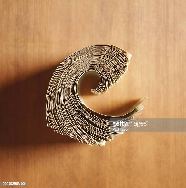 Wad of paper currency