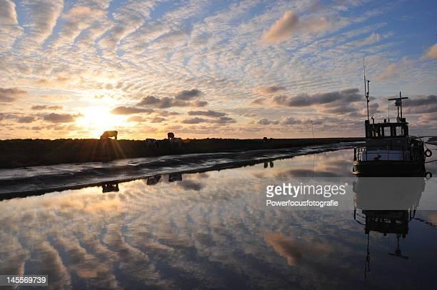 Wadden sea reflections