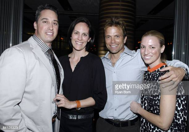 Wade Allen Annabeth Gish Actor David Chocachi and Publicist Susan Chocachi attend the UNICEF and Friends LA event for the TAP Project at Craft...