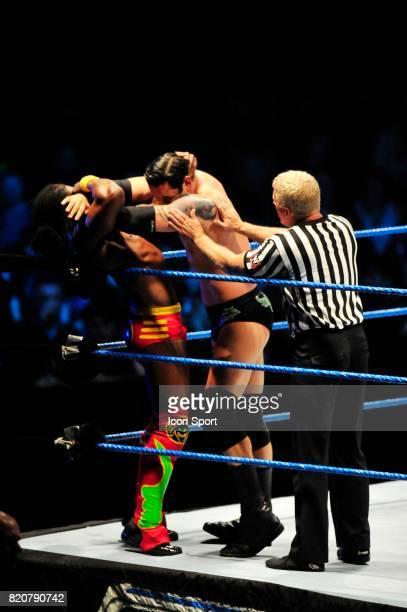 Wade Barrett / Kofi Kingston Wrestlemania Revenge Tour Halle Tony GarnierLyon