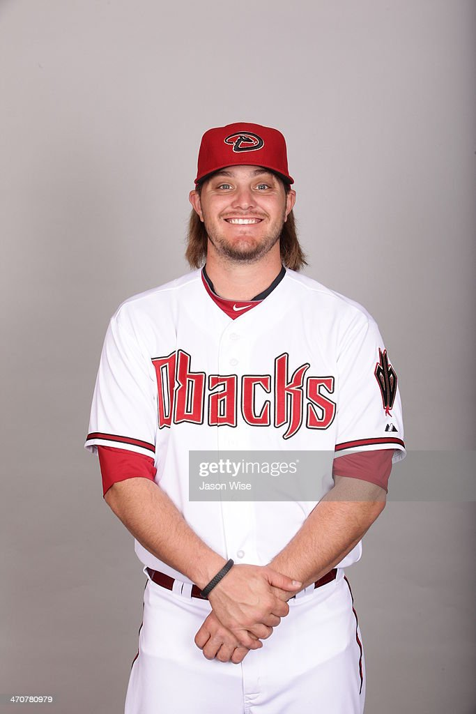 Wade Miley #36 of the Arizona Diamondbacks poses during Photo Day on Wednesday, February 19, 2014 at Salt River Fields at Talking Stick in Scottsdale, Arizona.