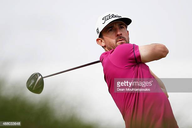 Wade Ormsby of Australia hits his tee shot on the 1st hole during the KLM Open Final Round held at Kennemer G CC on September 13 2015 in Zandvoort...