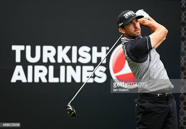 Wade Ormsby of Australia in action during the third round of the 2014 Turkish Airlines Open at The Montgomerie Maxx Royal on November 15 2014 in...