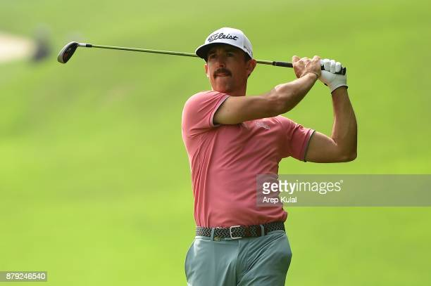 Wade Ormsby of Australia pictured during final round of the UBS Hong Kong Open at The Hong Kong Golf Club on November 26 2017 in Hong Kong Hong Kong