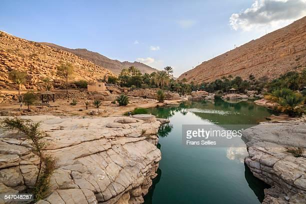 Wadi Bani Khalid, an oasis in the desert, Oman