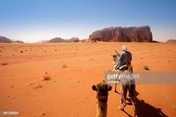 ワジラム砂漠ヨルダン