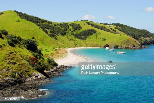 Waewaetorea Island - Aerial
