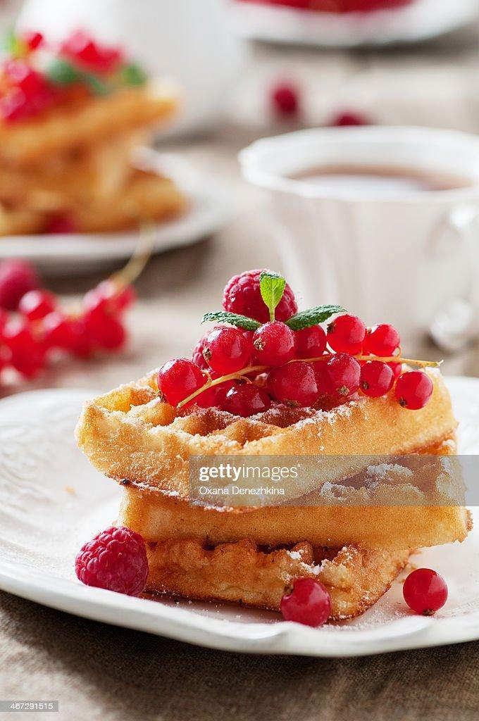 waffle : Stock Photo