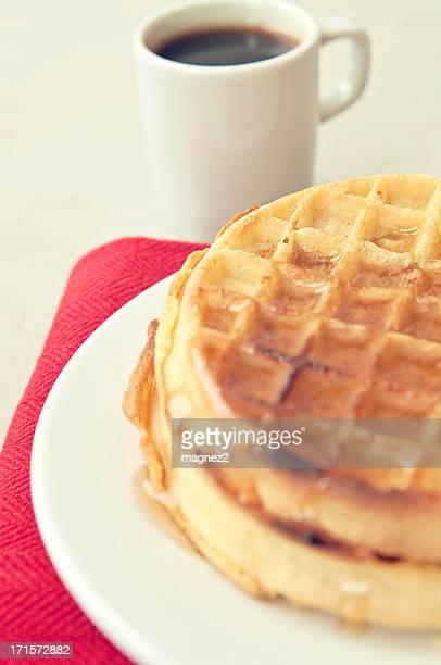 Waffle per la prima colazione