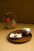 Tatami mats are a traditional Japanese flooring. Made of woven straw, and traditionally packed with straw (though nowadays sometimes with styrofoam), tatami are made in individual mats of uniform size