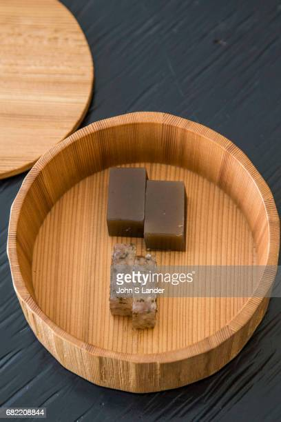 Wagashi are traditional Japanese sweets and confectionery that are often served with tea Wagashi sweets are usually made of mochi azuki bean paste...