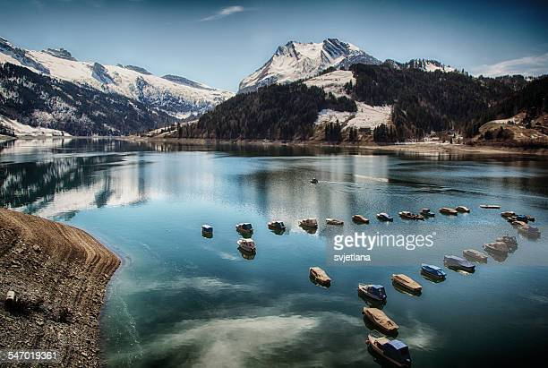 Wagitalersee, Schwyz, Switzerland