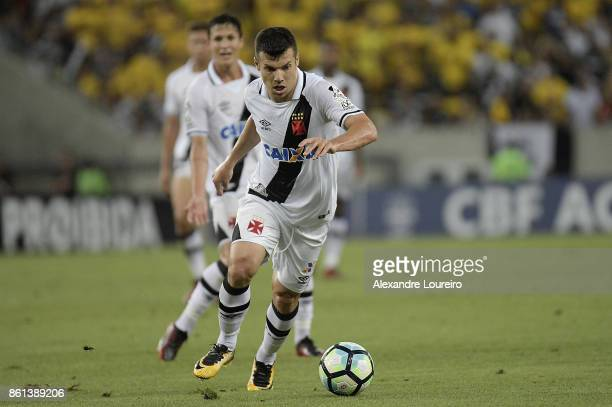 Wagner of Vasco da Gama runs with the ball during the match between Vasco da Gama and Botafogo as part of Brasileirao Series A 2017 at Maracana...