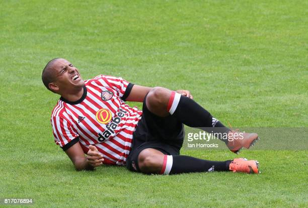 Wahbi Khazri of Sunderland during a preseason friendly match between St Johnstone FC and Sunderland AFC at McDiarmid Park on July 15 2017 in Perth...
